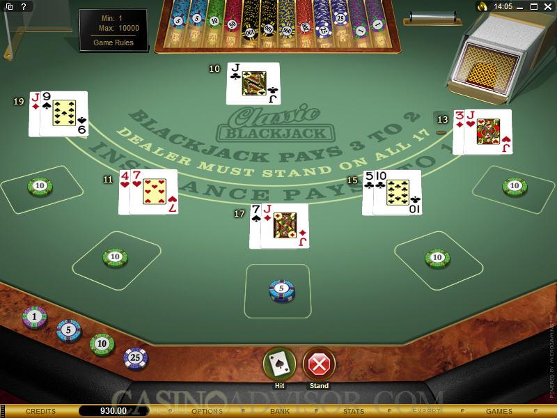 Building And Managing Your Online Blackjack Bankroll